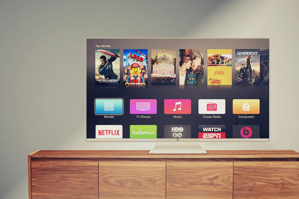 will we ever see a television from apple tv