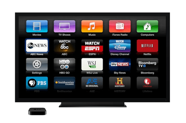 apple tv adds aol espn miramax series and movies watch abc