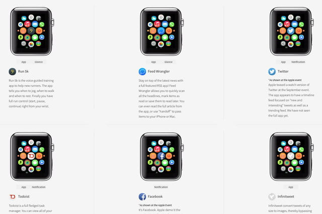 play about with apple watch apps on this new site