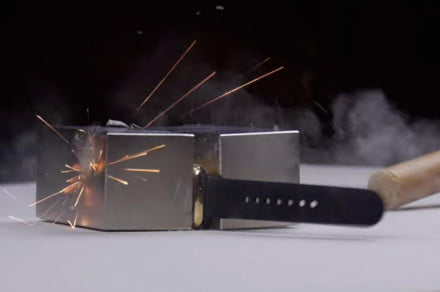 apple watch edition crushed