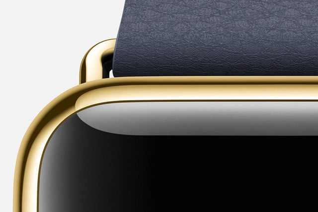 apple to make extra in store effort woo buyers of its top end smartwatch watch edition yellow gold blue case