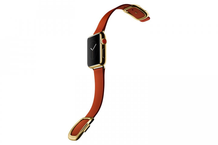 apple watch release news edition yellow gold red