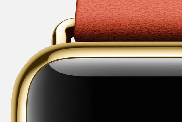 apple watch bags prestigious design award edition yellow gold red detail