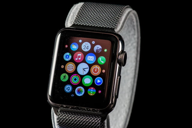 Apple Watch front angle