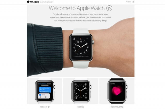 apple gears up for smartwatch launch with new guided tour demo videos watch tours