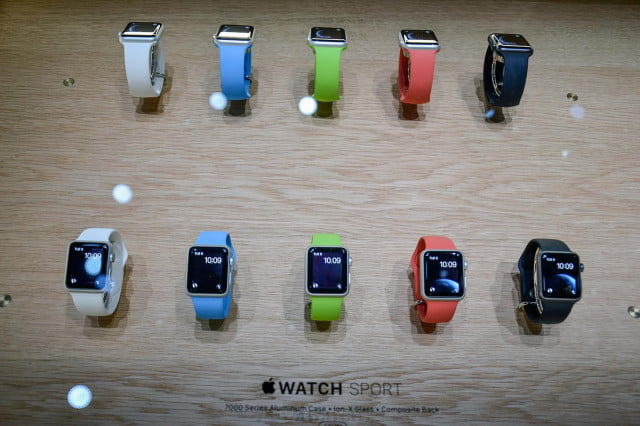 apple watch hands on 12