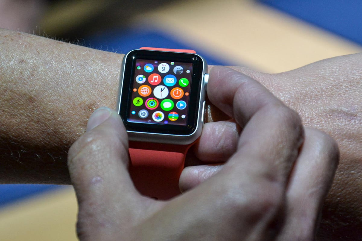 apple watch event march  hands on