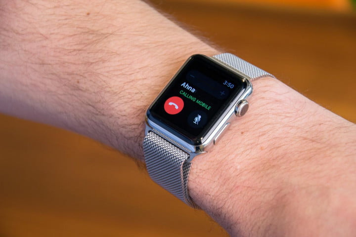 apple watch review wrist  x