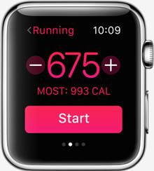 apple watch release news goals