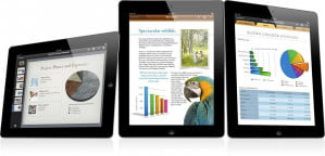 Apple iWork iOS iPad