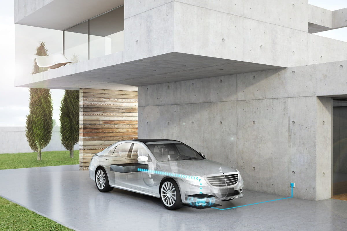 mercedes benz wireless charging  s e plug in hybrid