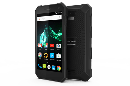 Archos 50 Saphir might not be