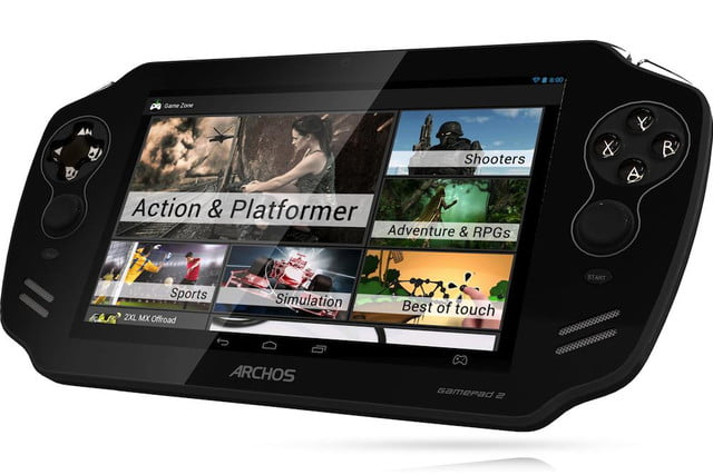 gamepad  launched by archos front