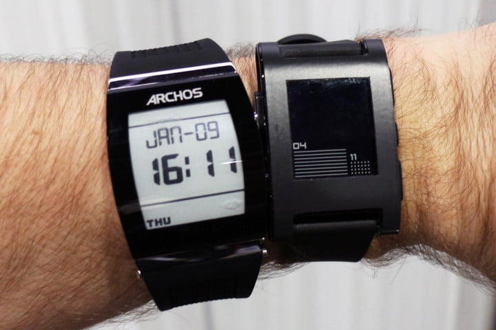 archos smartwatches tested at ces  smartwatch vs pebble
