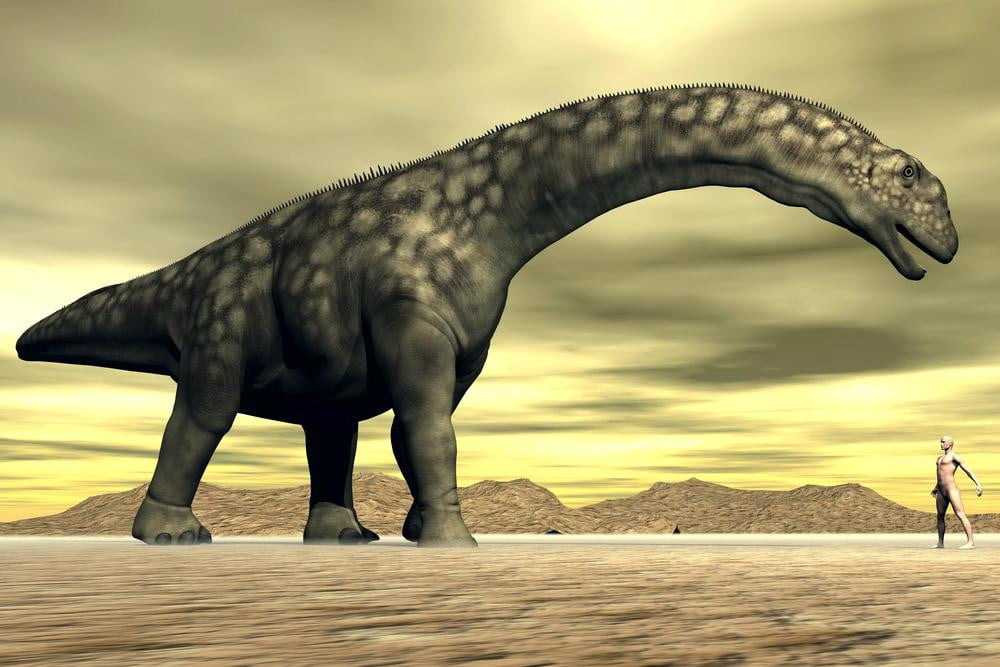 worlds biggest dinosaur takes first steps  million years digitally argentinosaurus