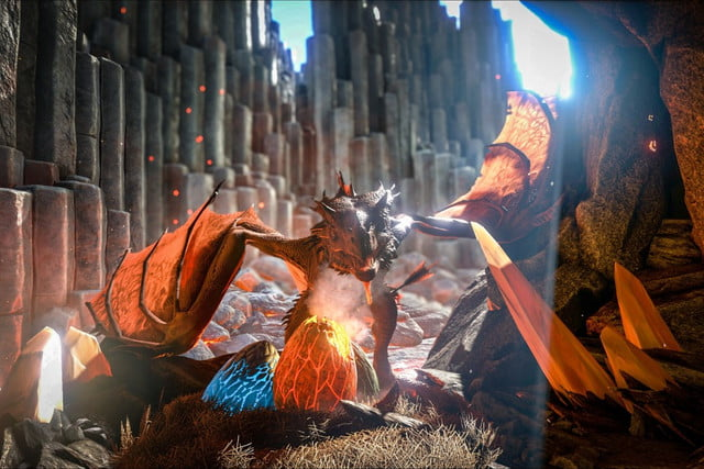 early access title ark survival evolved sees backlash over paid dlc arkwyvern