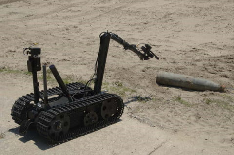 army-robot