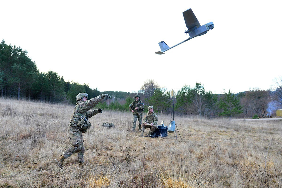 artificial intelligence could be a boon to the military army unmanned head