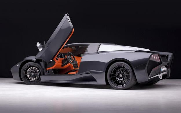 Arrinera Scissor Door Open