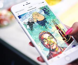 How Art404 turned Instagram into a massive, pop culture mural