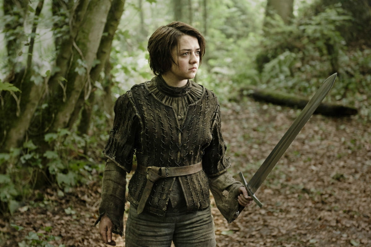 maisie williams pacific rim  arya stark game of thrones