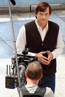 ashton kutcher filming