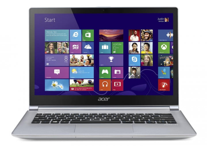 acer updates aspire s  ultrabooks with next gen processors touchscreens straight win