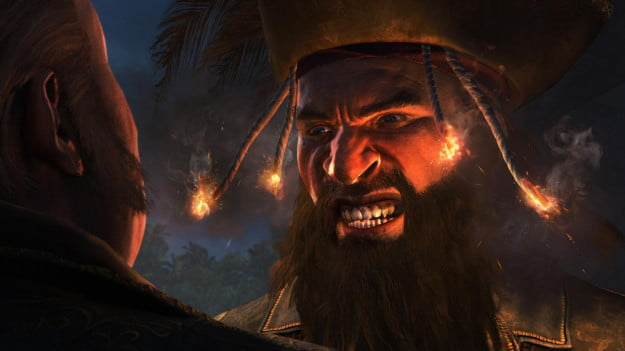 Assassins Creed 4 Black Flag Caribbean Sea Furious Blackbeard