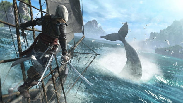 Assassins Creed 4 whale
