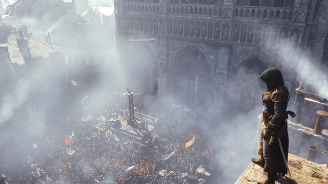 assassins creed unity reportedly features four player narrative co op