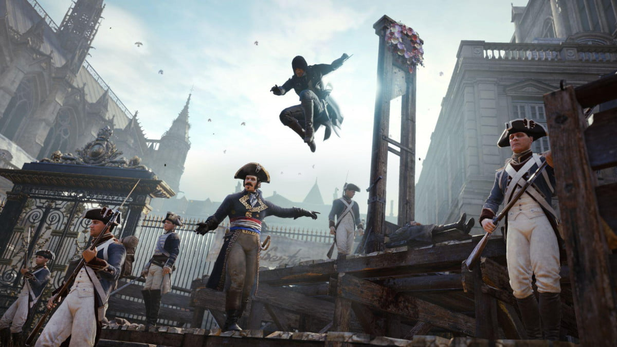 rob zombie walking dead co creator tony moore teaming assassins creed short unity e