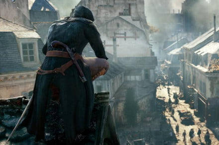 Assassins Creed Unity screen