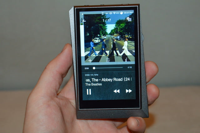 astellkern ak  copper portable hires players astell kern
