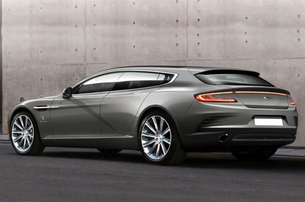 Bertone Aston Martin Jet 2+2 rear three quarter
