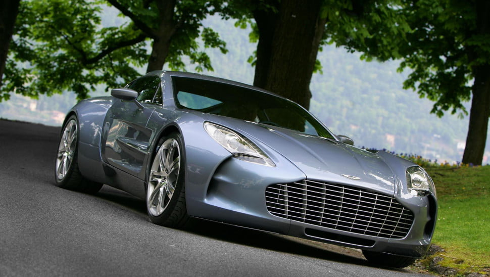 Aston Martin One 77 Production Car Front Main Wallpaper 970X548 C
