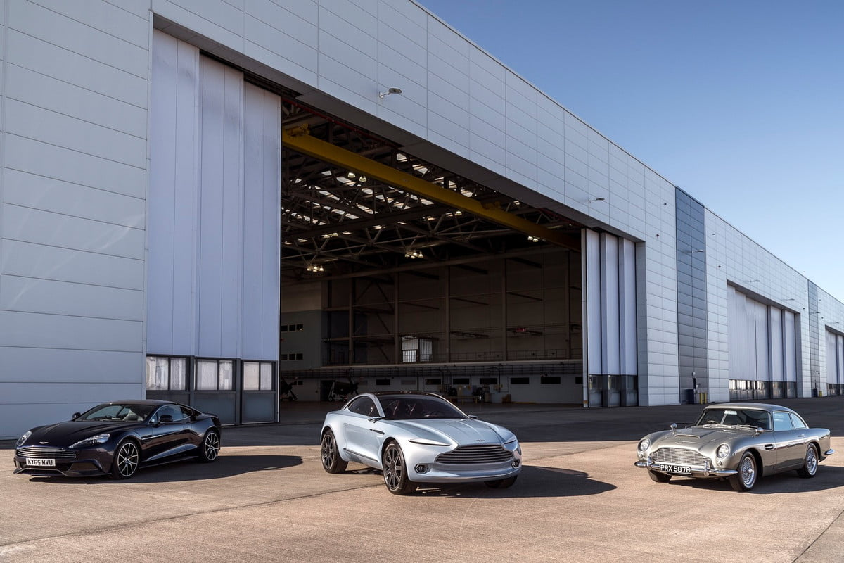 aston martin begins construction of second factory st  athan