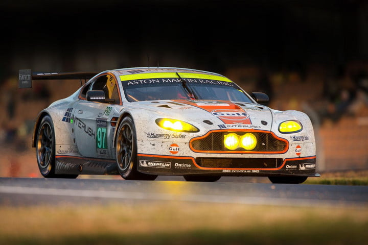 hours le mans results ramifications aston martin v vantage