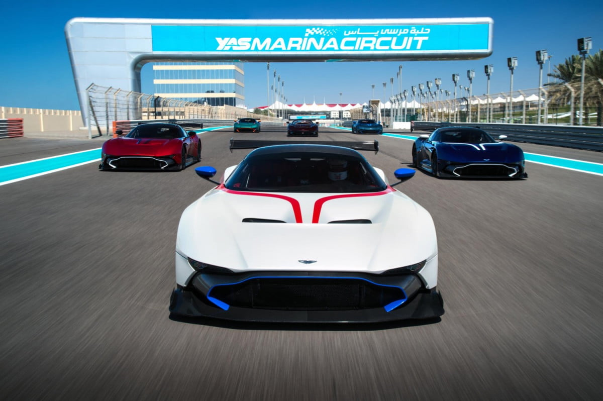 aston martin vulcan special training first vulcans delivered