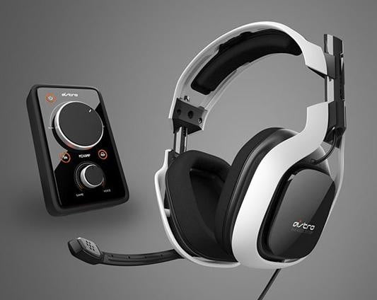 Astro A40 White Gaming Headset
