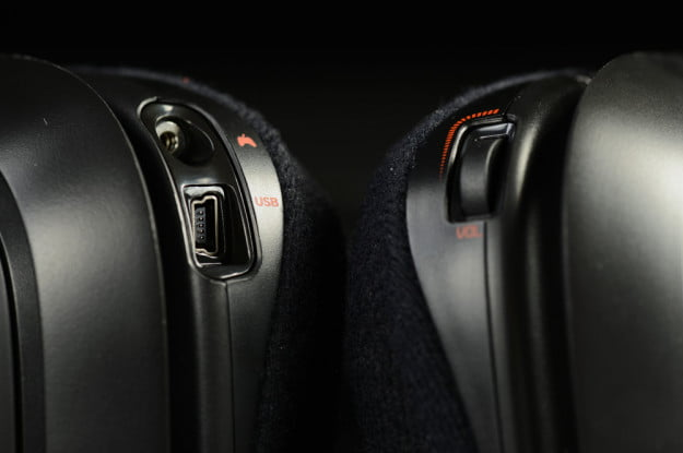 Astro A50 headset review bottom controls