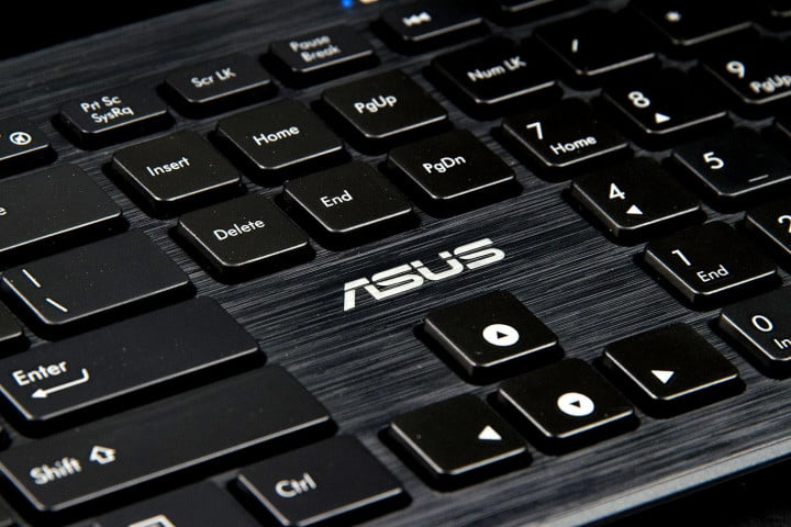 asus m  ac us s review keyboard