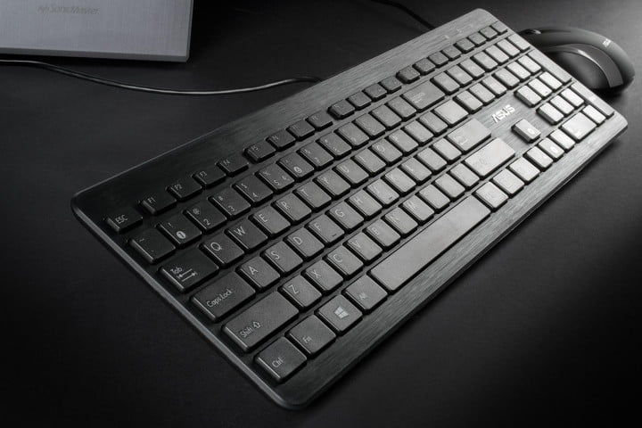 ASUS M70AD US003S review mouse keyboard
