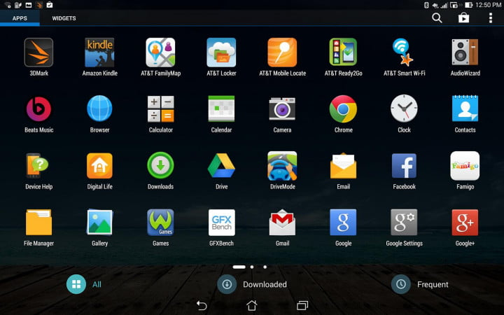 asus padfone x review tablet screen