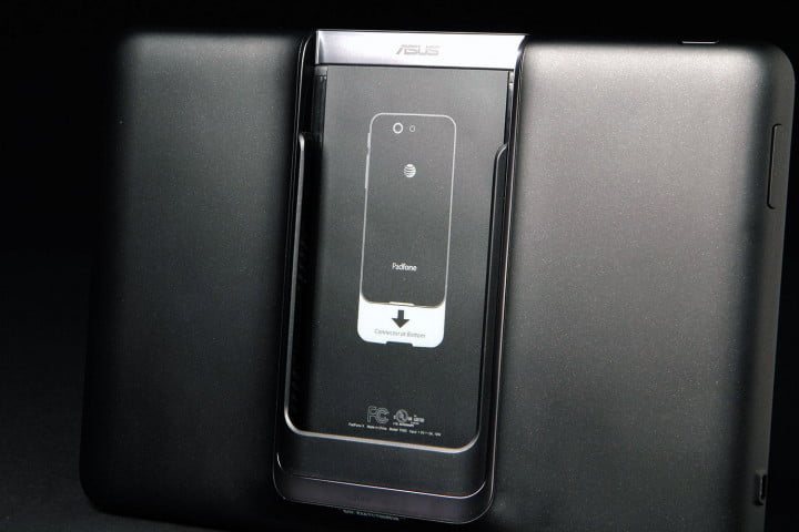 asus padfone x review padphone station dock back angle