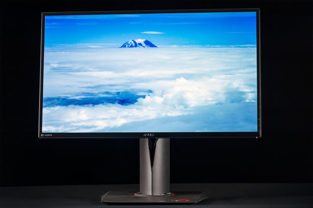 asus is replacing rog swift pg  q monitors subjected to ips glow and backlight bleeding monitor review