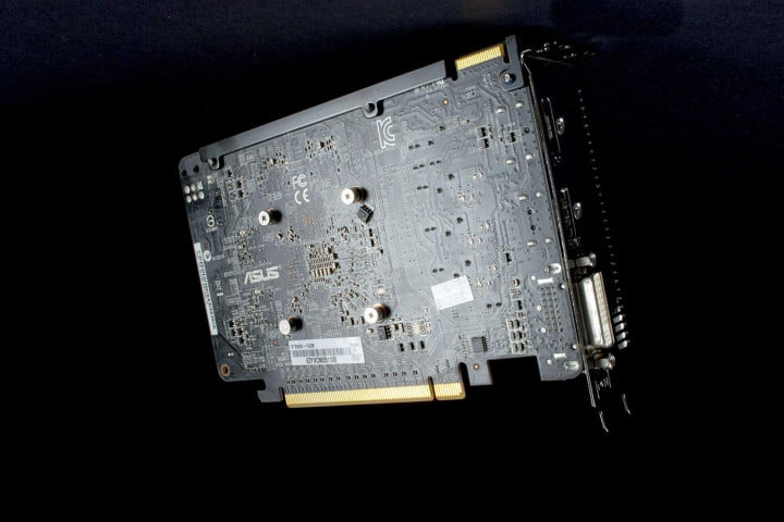 asus radeon r  x review bottom
