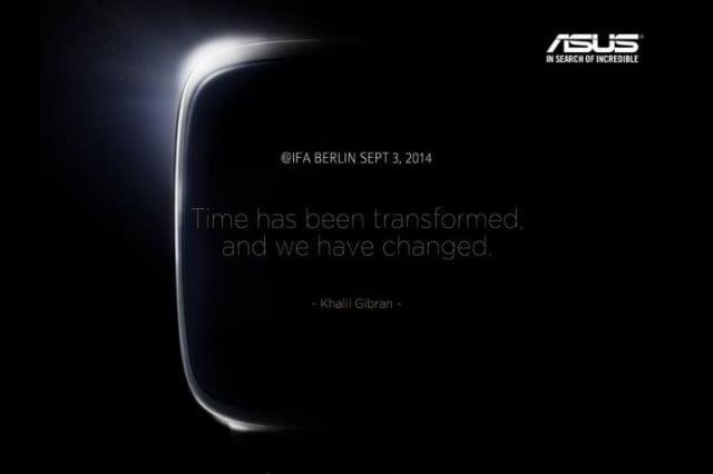 Asus Smartwatch Event