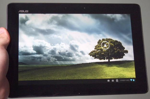 Asus transformer pad infinity review screen tablet homescreen