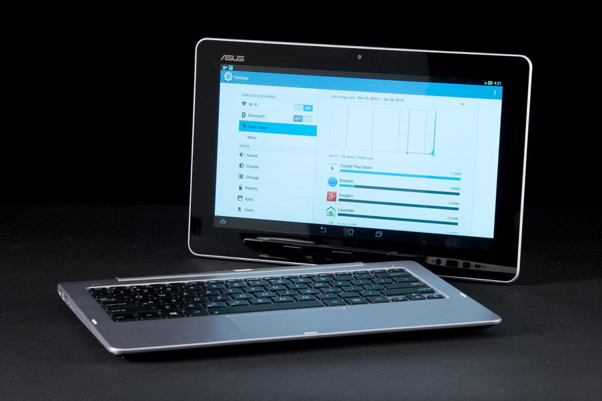 whats the problem with hybrid and  in pcs asus tx l transformer book trio tablet horizontal
