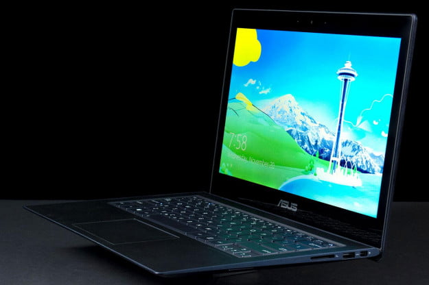 Asus UX301LADH71T Zenbook front angle